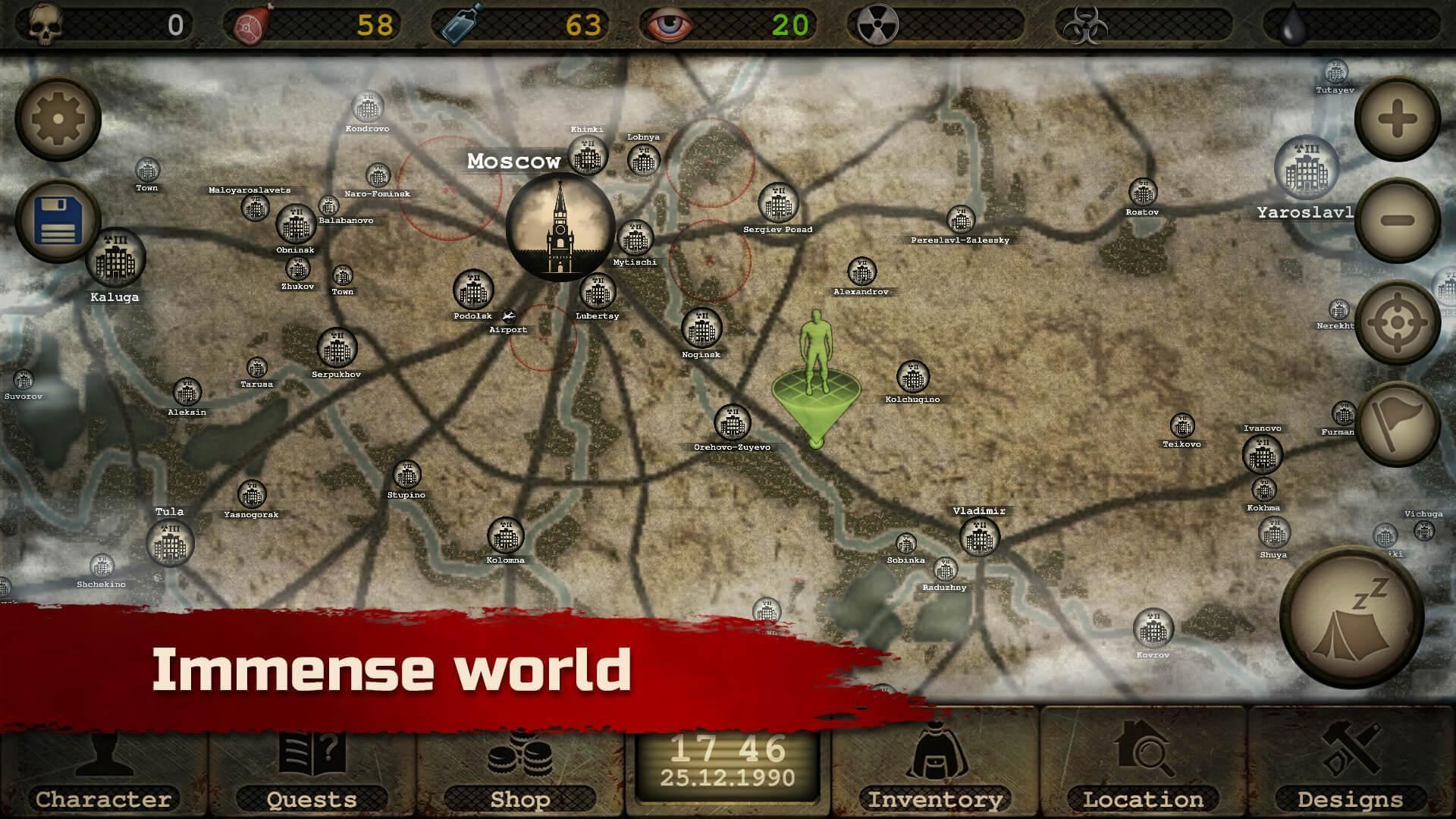 Day R Survival – Apocalypse, Lone Survivor and RPG 1.647 Screenshot 2