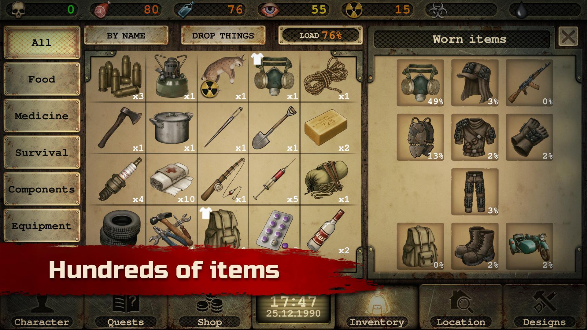 Day R Survival – Apocalypse, Lone Survivor and RPG 1.647 Screenshot 3