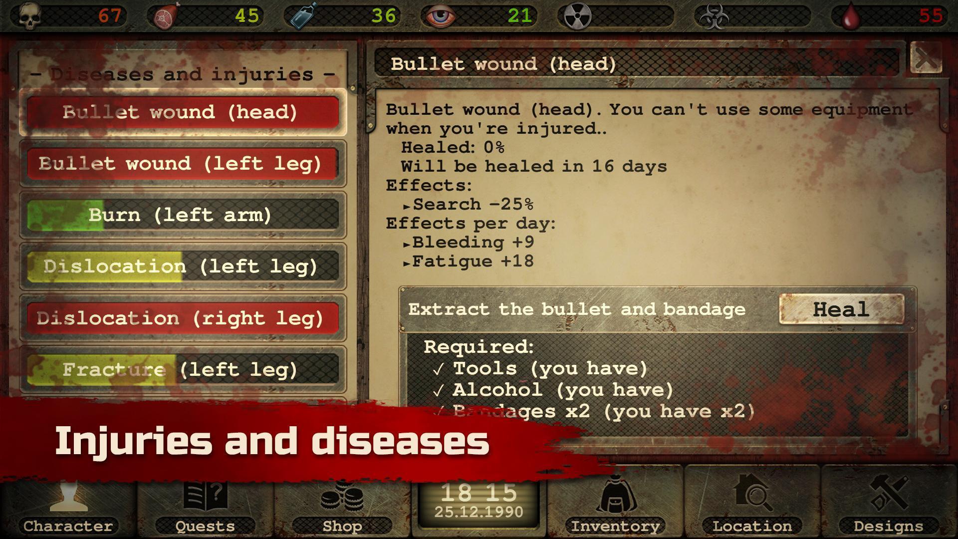 Day R Survival – Apocalypse, Lone Survivor and RPG 1.647 Screenshot 5