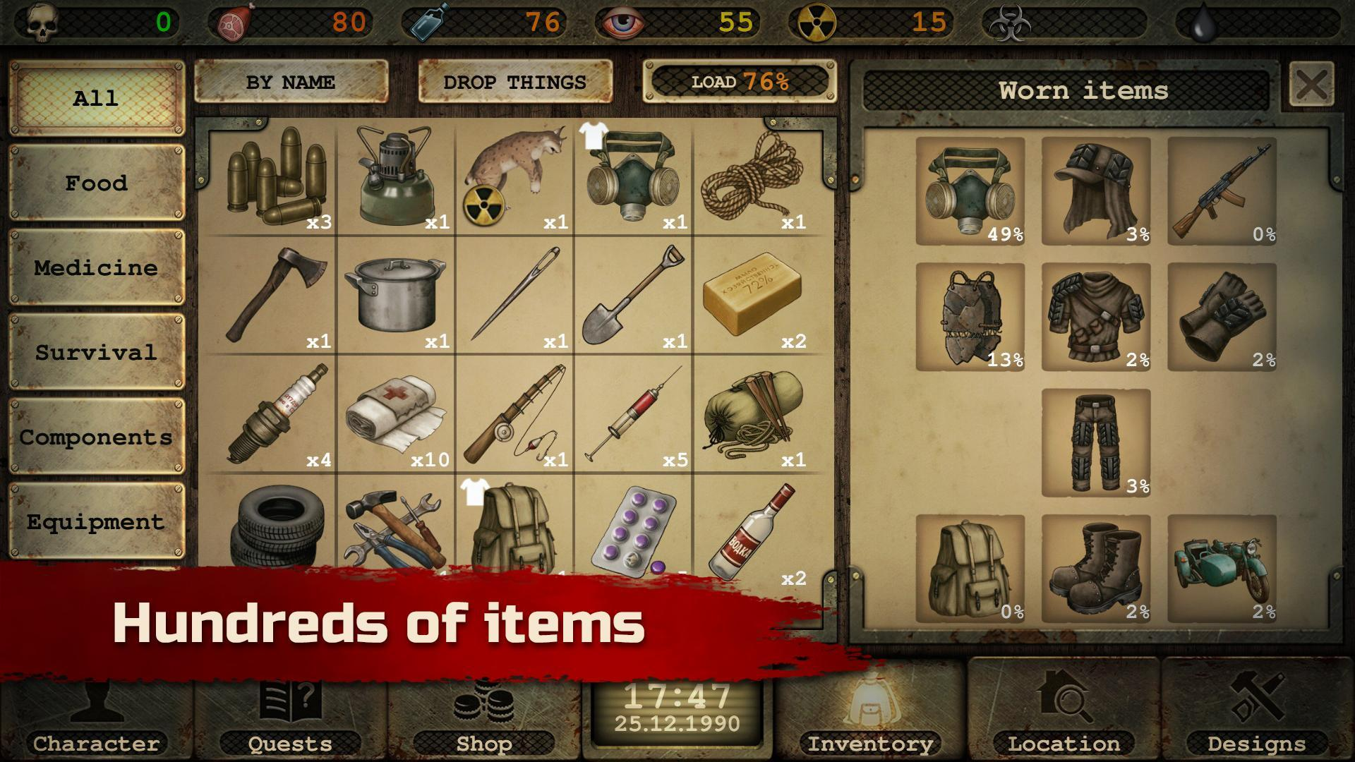 Day R Survival – Apocalypse, Lone Survivor and RPG 1.647 Screenshot 9