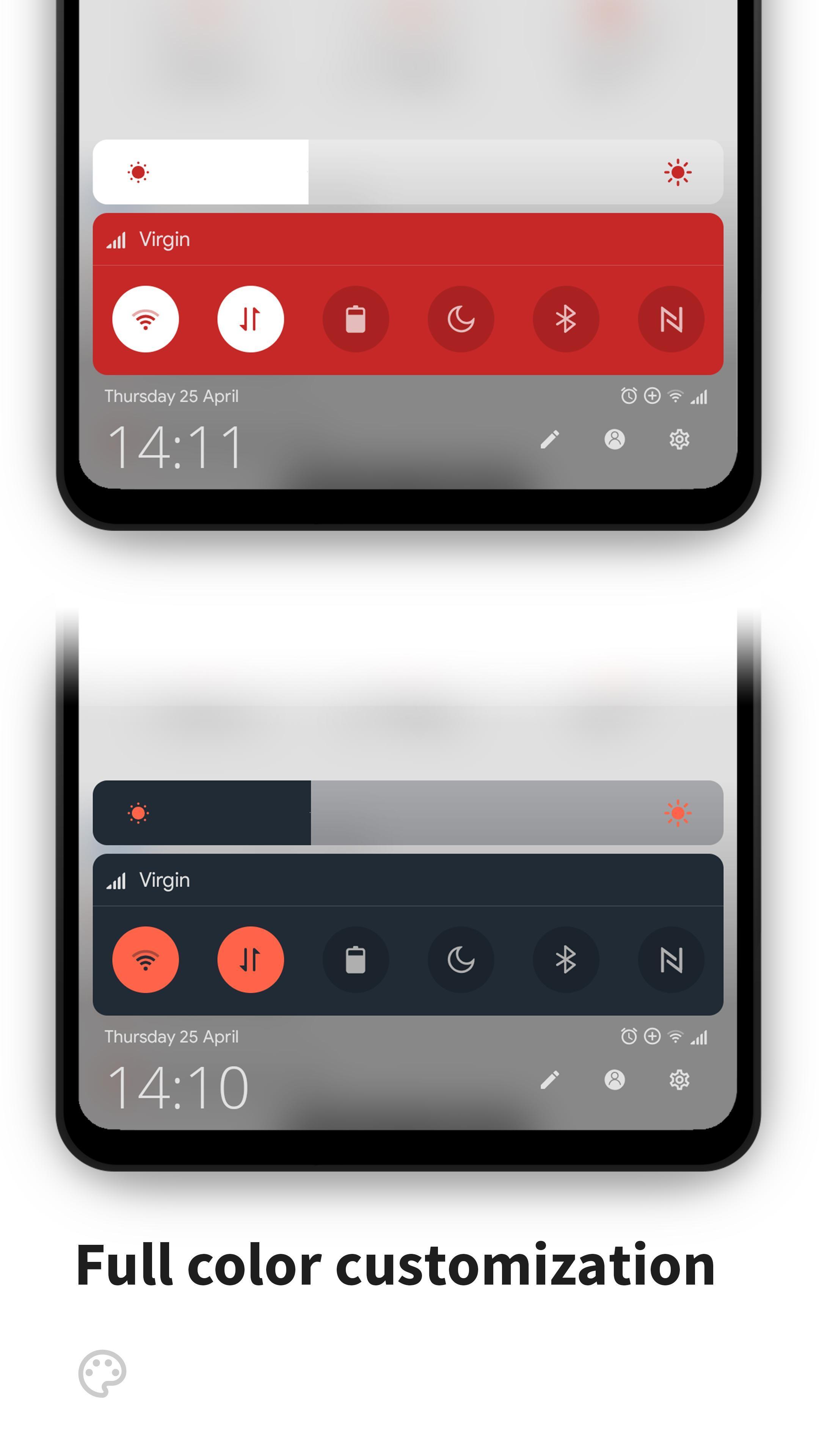 MIUI-ify Notification Shade & Quick Settings 1.7.0 Screenshot 16
