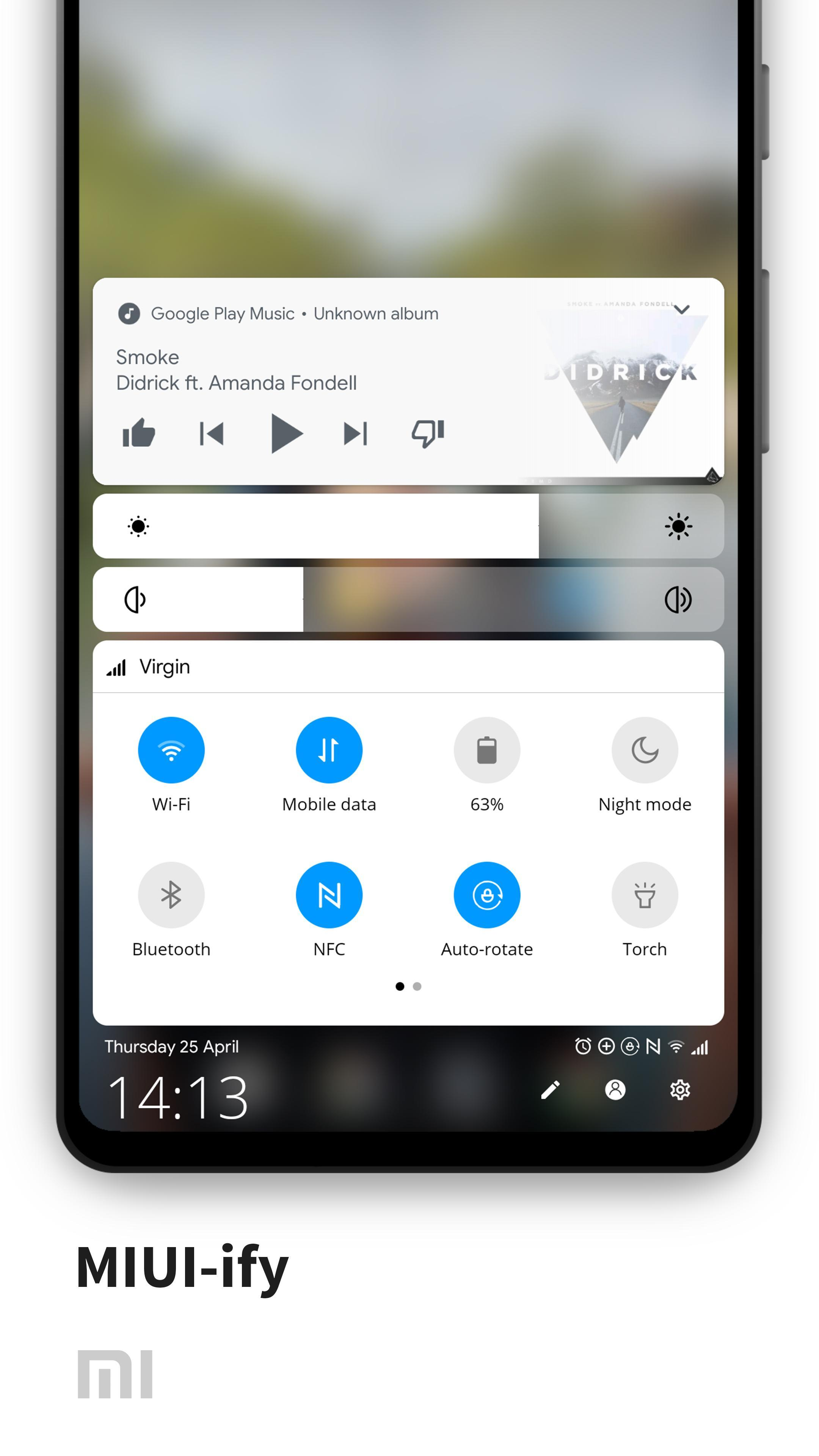 MIUI-ify Notification Shade & Quick Settings 1.7.0 Screenshot 8