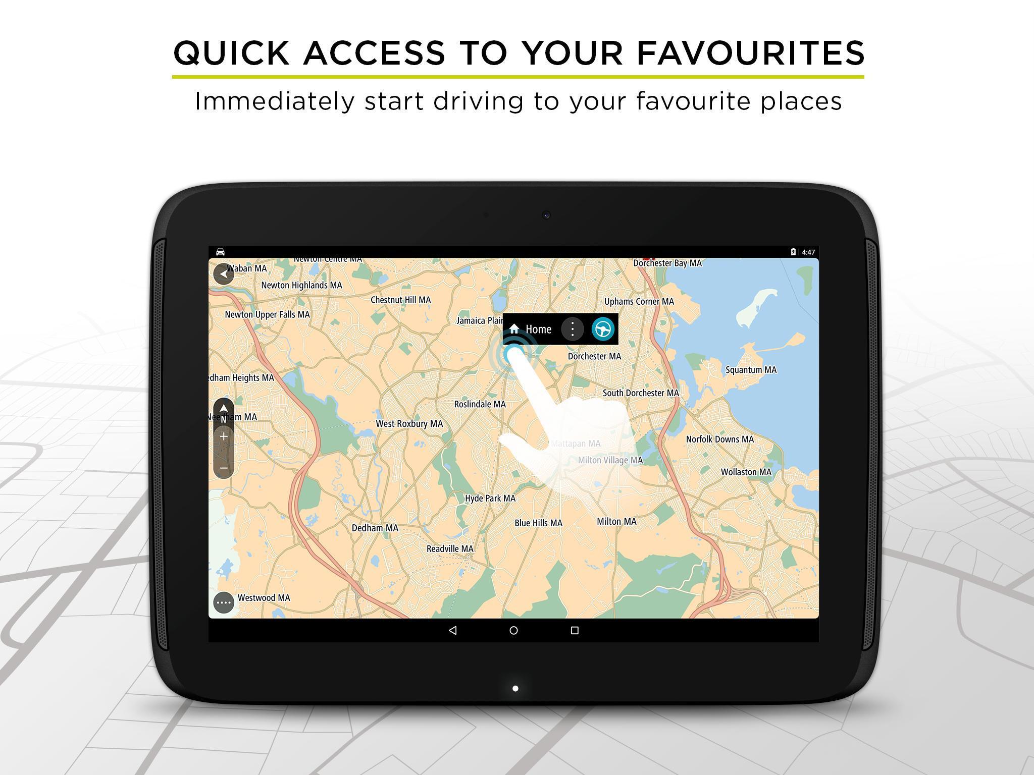 TomTom GPS Navigation - Live Traffic Alerts & Maps 2.0.4 Screenshot 10