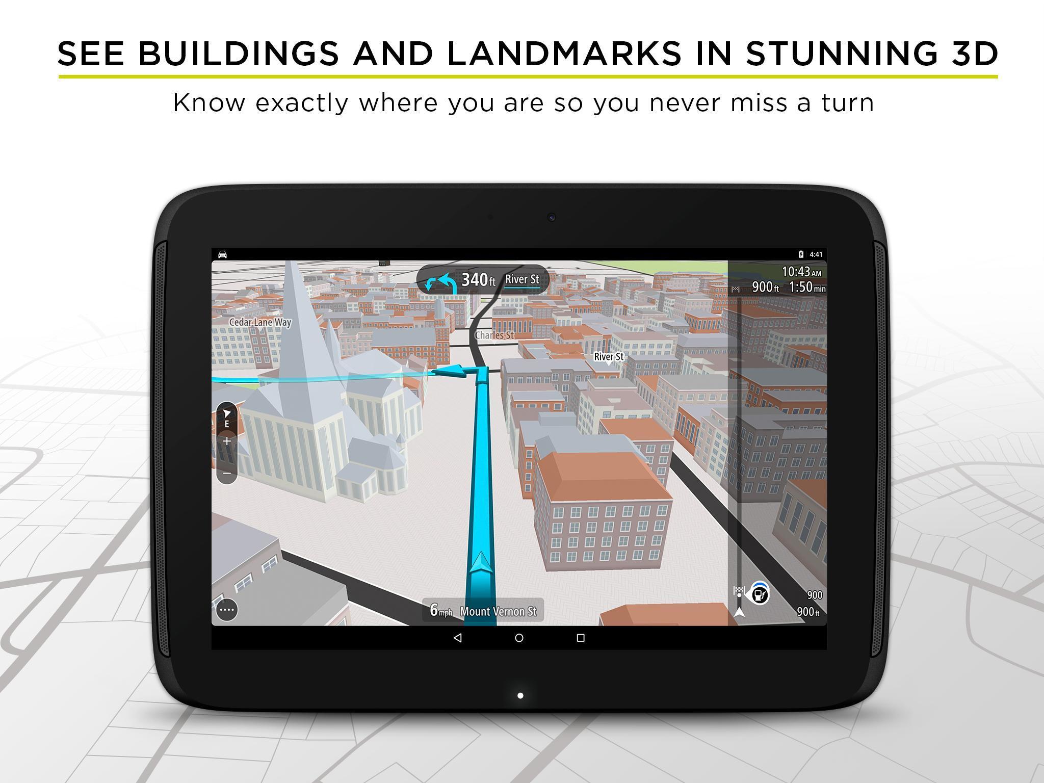 TomTom GPS Navigation - Live Traffic Alerts & Maps 2.0.4 Screenshot 11