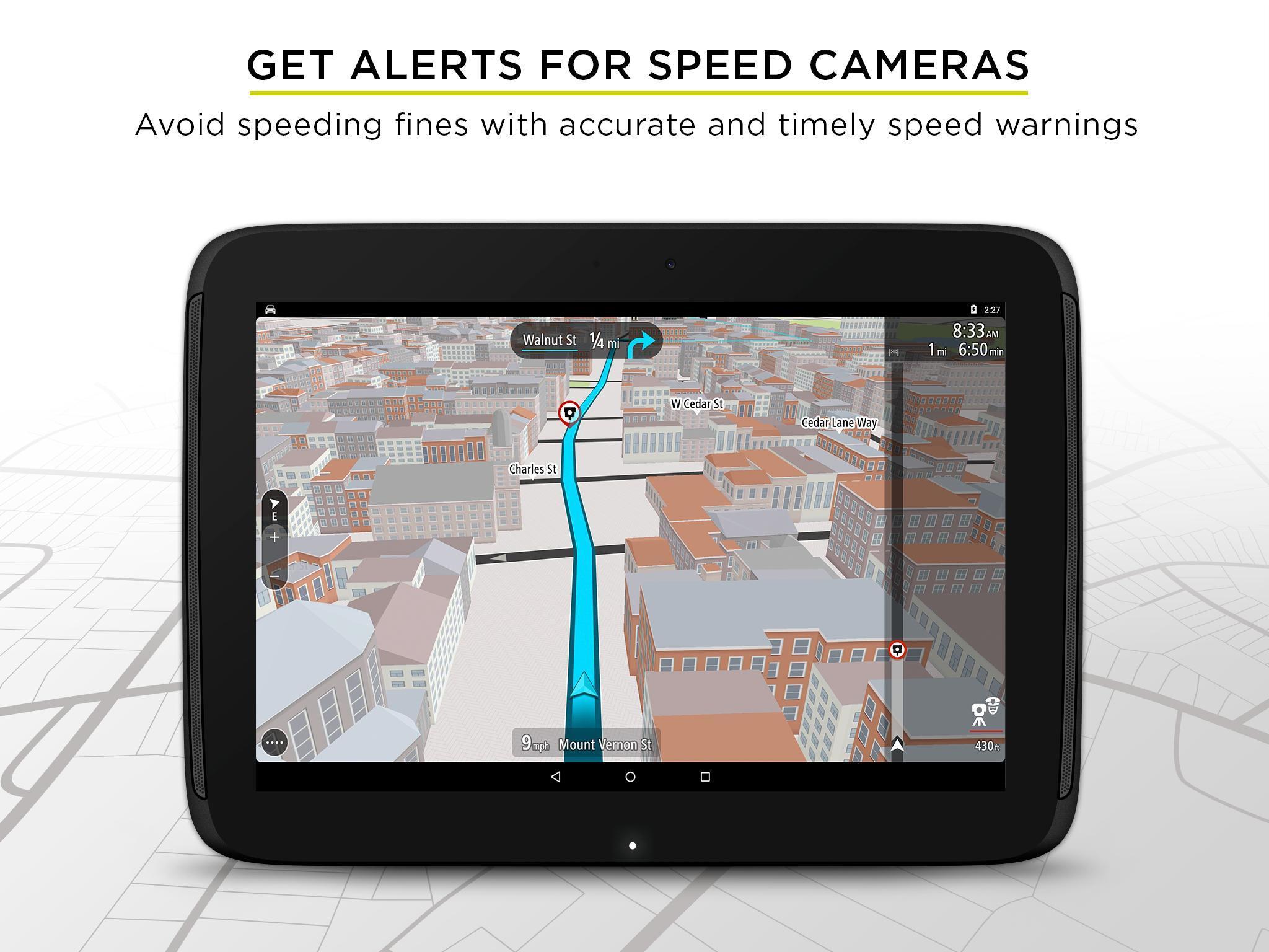TomTom GPS Navigation - Live Traffic Alerts & Maps 2.0.4 Screenshot 12