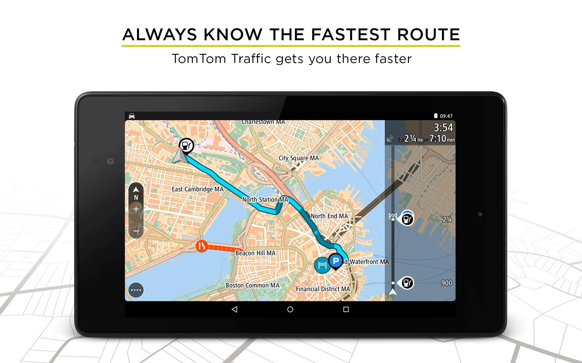 TomTom GPS Navigation - Live Traffic Alerts & Maps 2.0.4 Screenshot 15