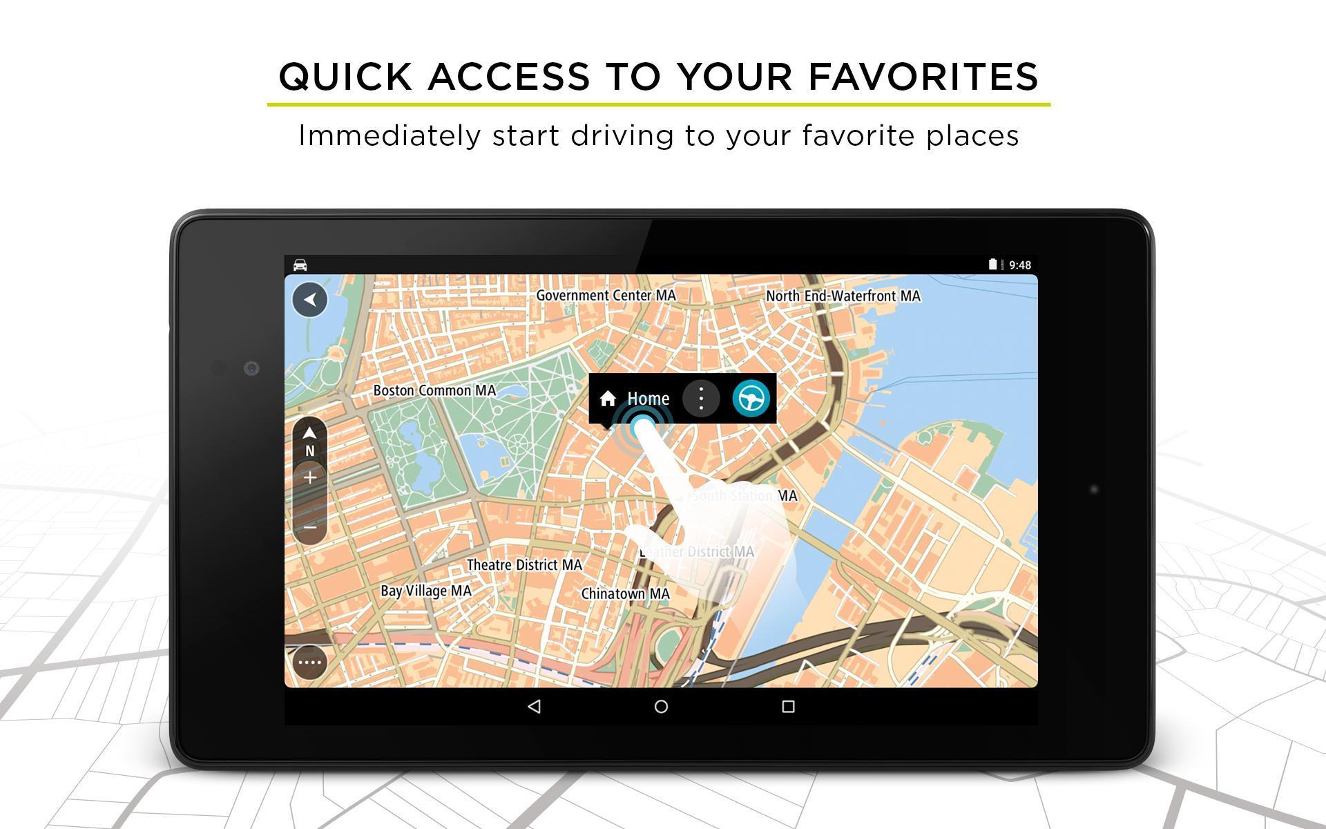 TomTom GPS Navigation - Live Traffic Alerts & Maps 2.0.4 Screenshot 17