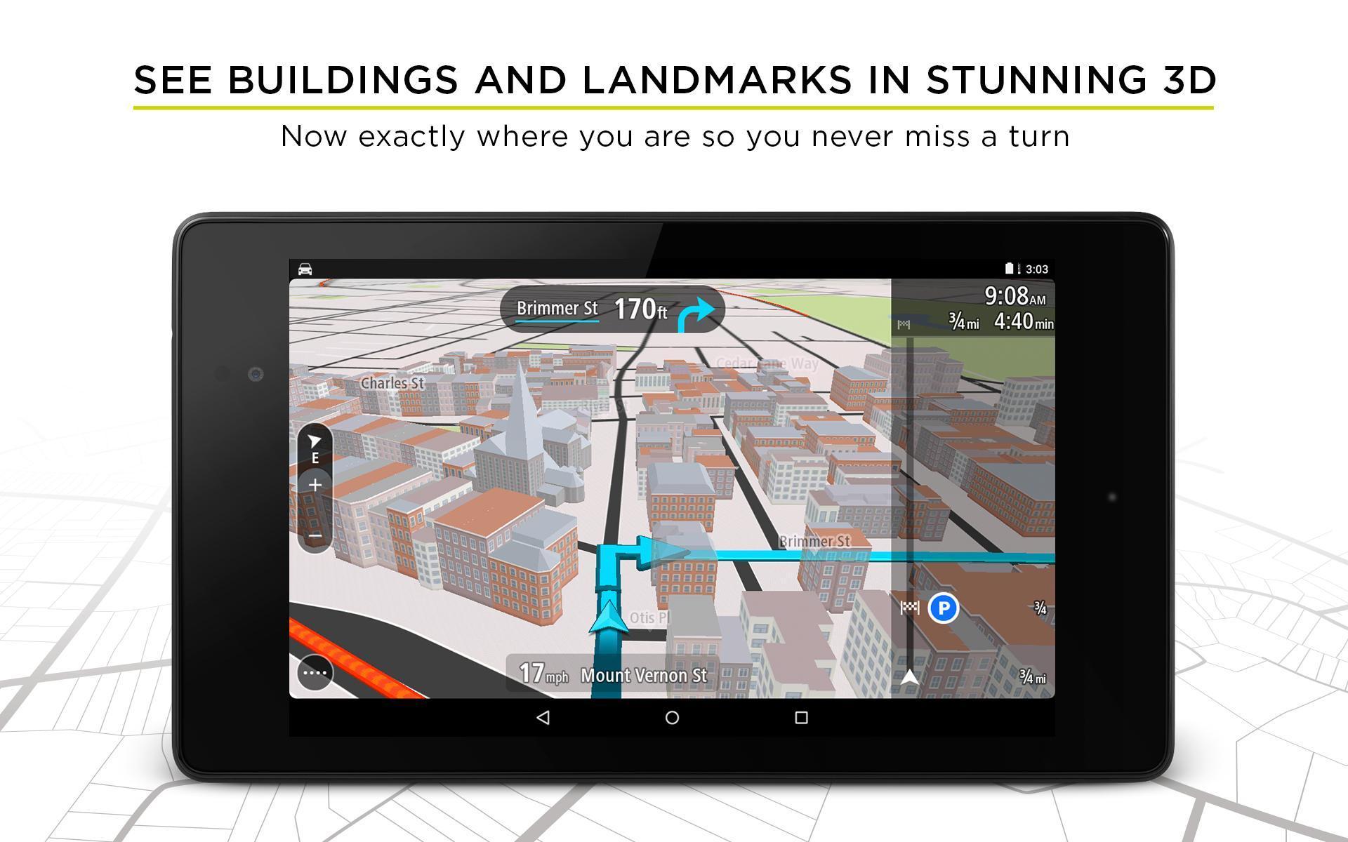 TomTom GPS Navigation - Live Traffic Alerts & Maps 2.0.4 Screenshot 18