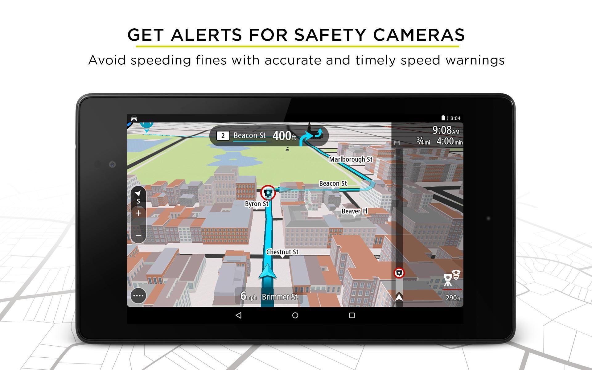 TomTom GPS Navigation - Live Traffic Alerts & Maps 2.0.4 Screenshot 19