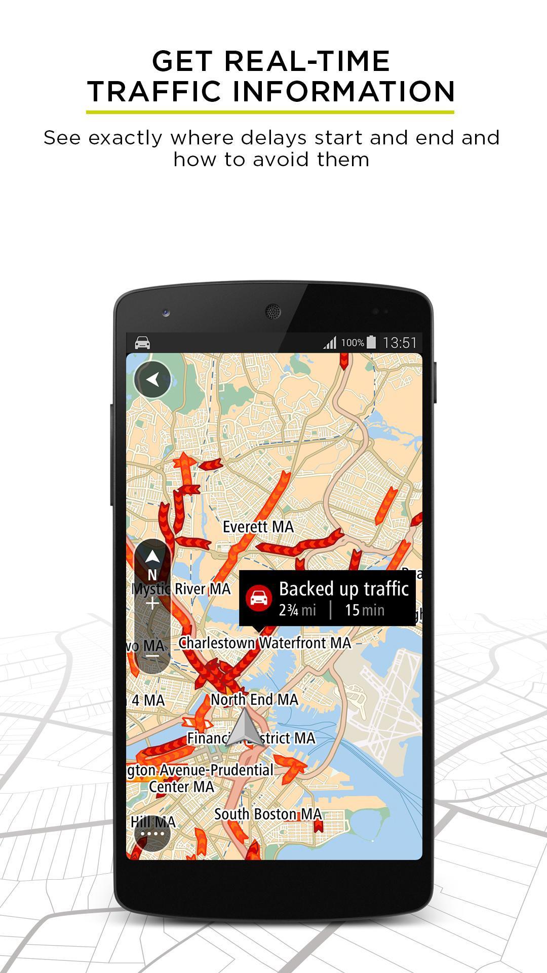 TomTom GPS Navigation - Live Traffic Alerts & Maps 2.0.4 Screenshot 2