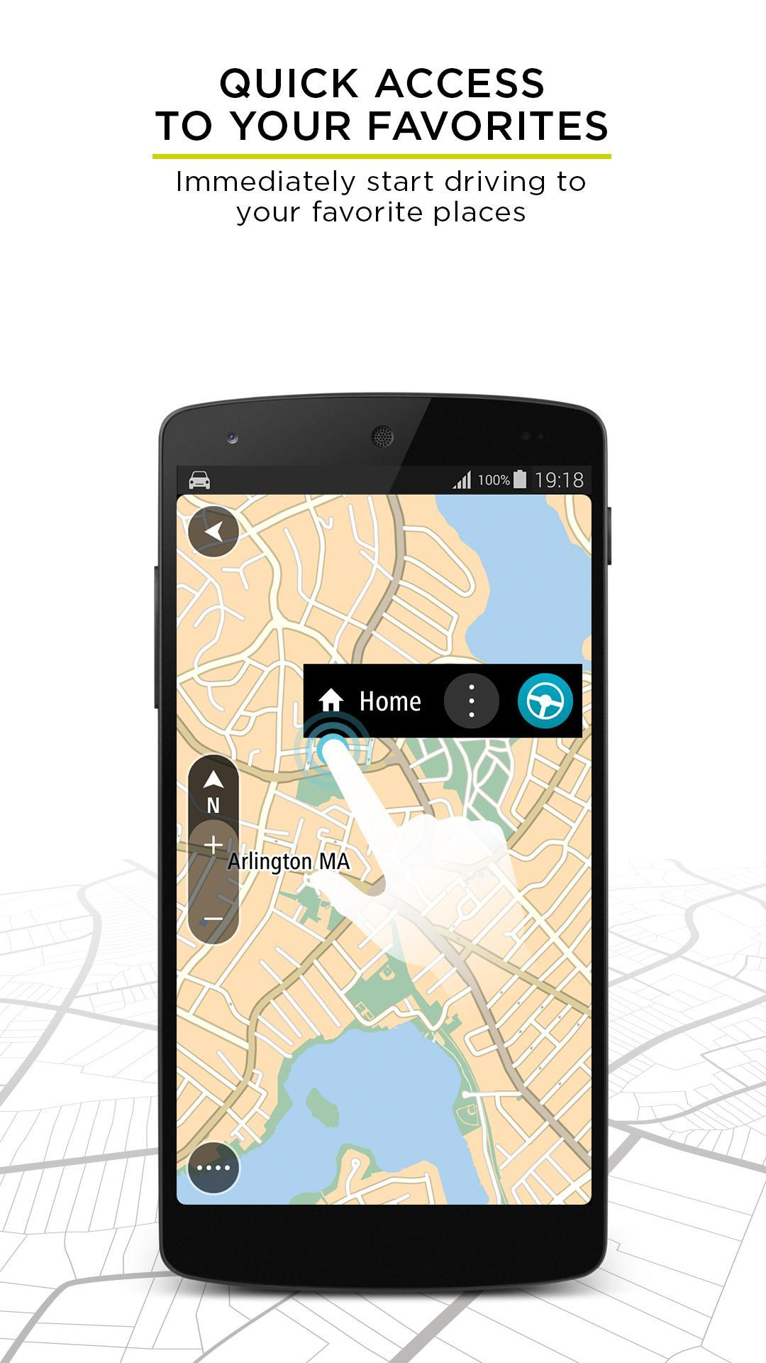 TomTom GPS Navigation - Live Traffic Alerts & Maps 2.0.4 Screenshot 3