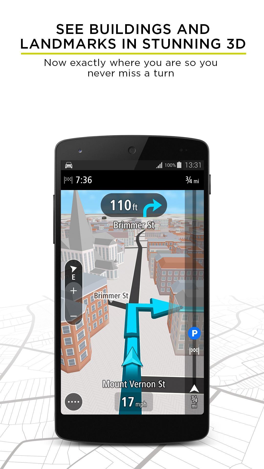 TomTom GPS Navigation - Live Traffic Alerts & Maps 2.0.4 Screenshot 4
