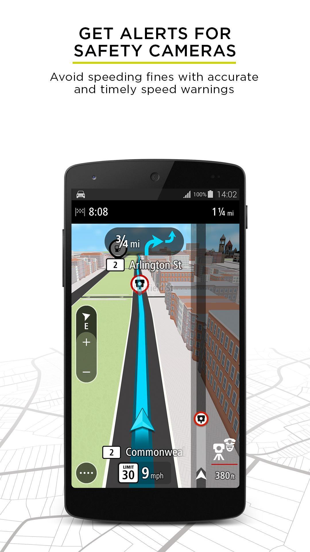 TomTom GPS Navigation - Live Traffic Alerts & Maps 2.0.4 Screenshot 5