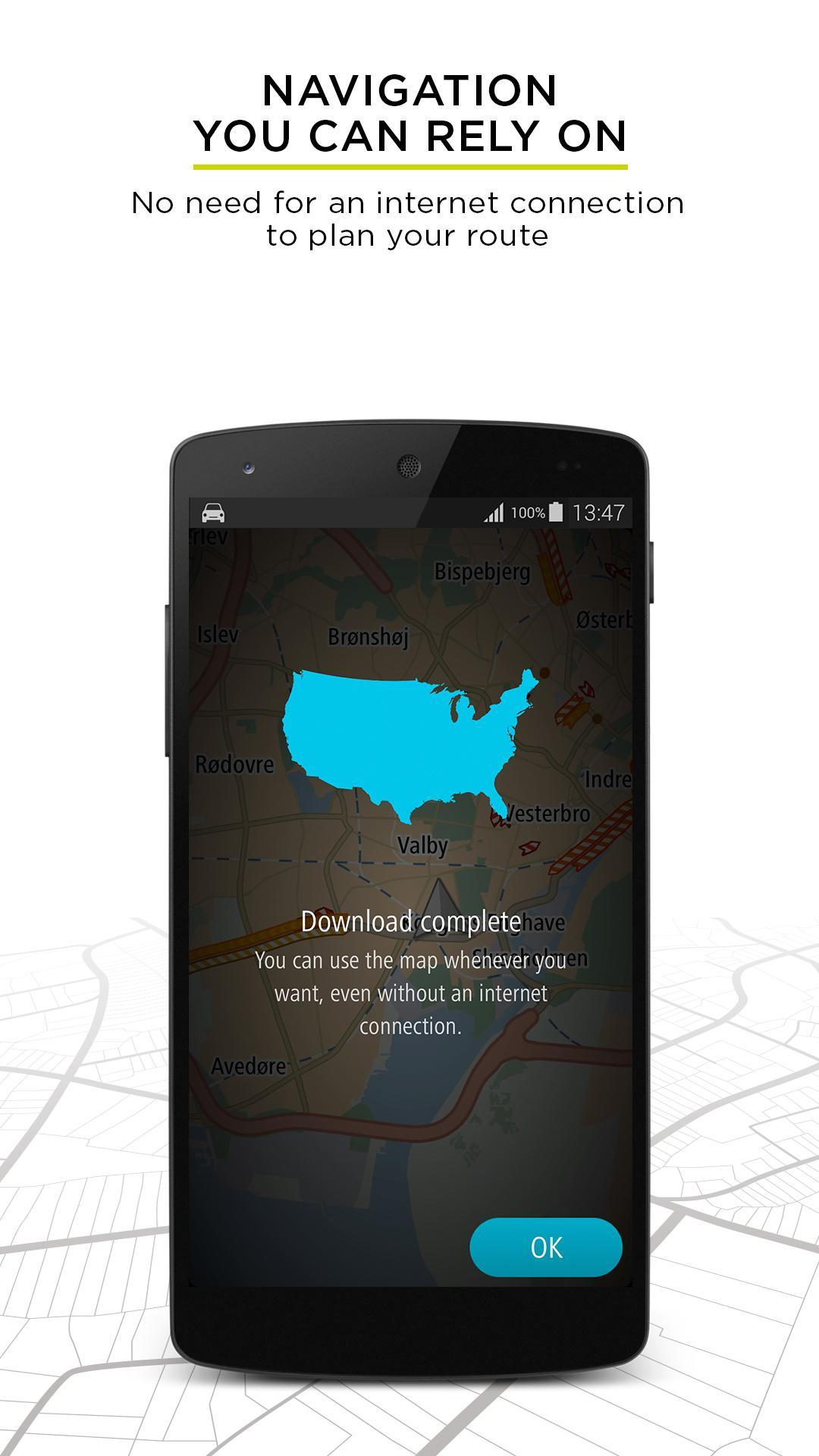 TomTom GPS Navigation - Live Traffic Alerts & Maps 2.0.4 Screenshot 6