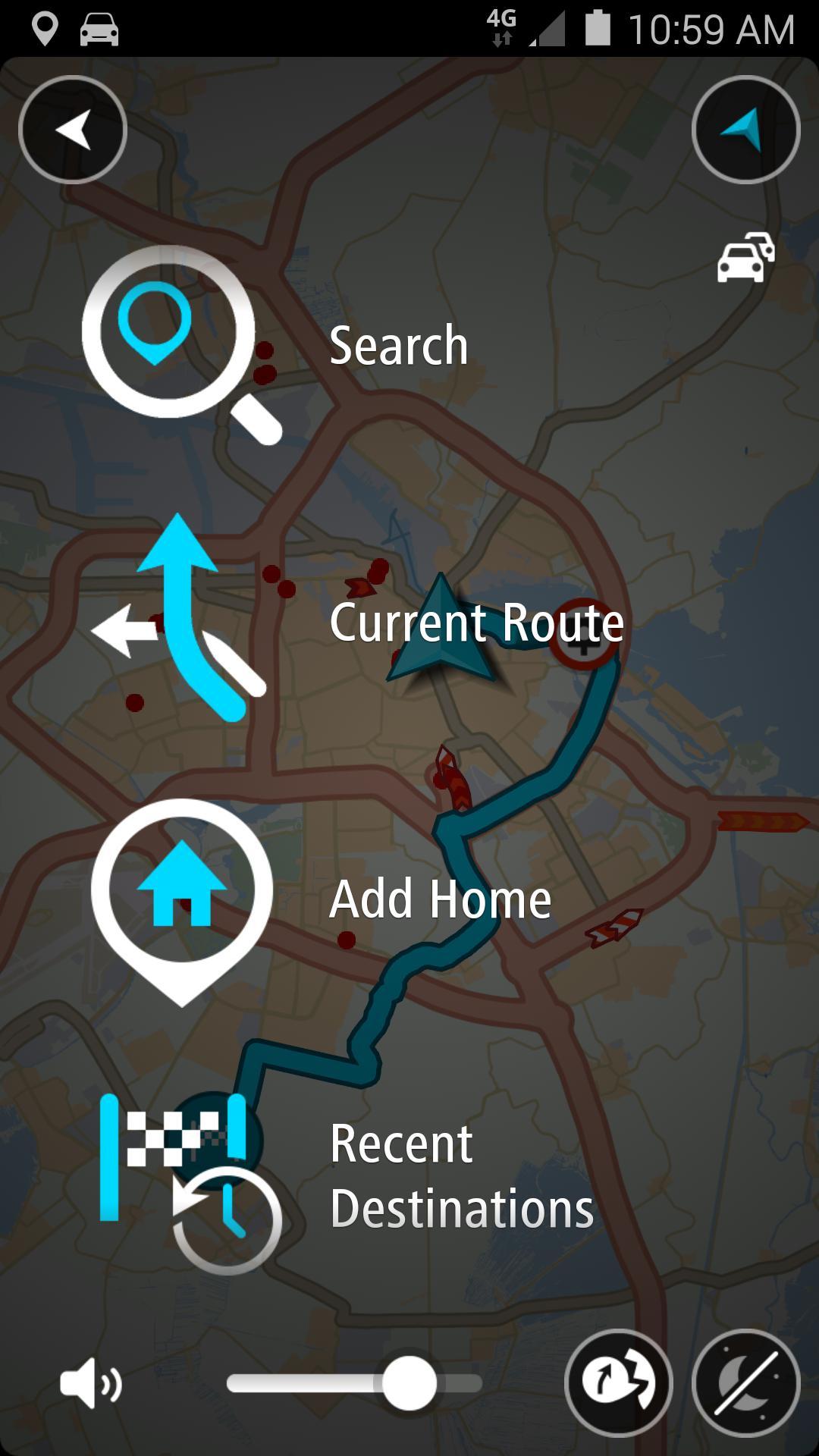 TomTom GPS Navigation - Live Traffic Alerts & Maps 2.0.4 Screenshot 7