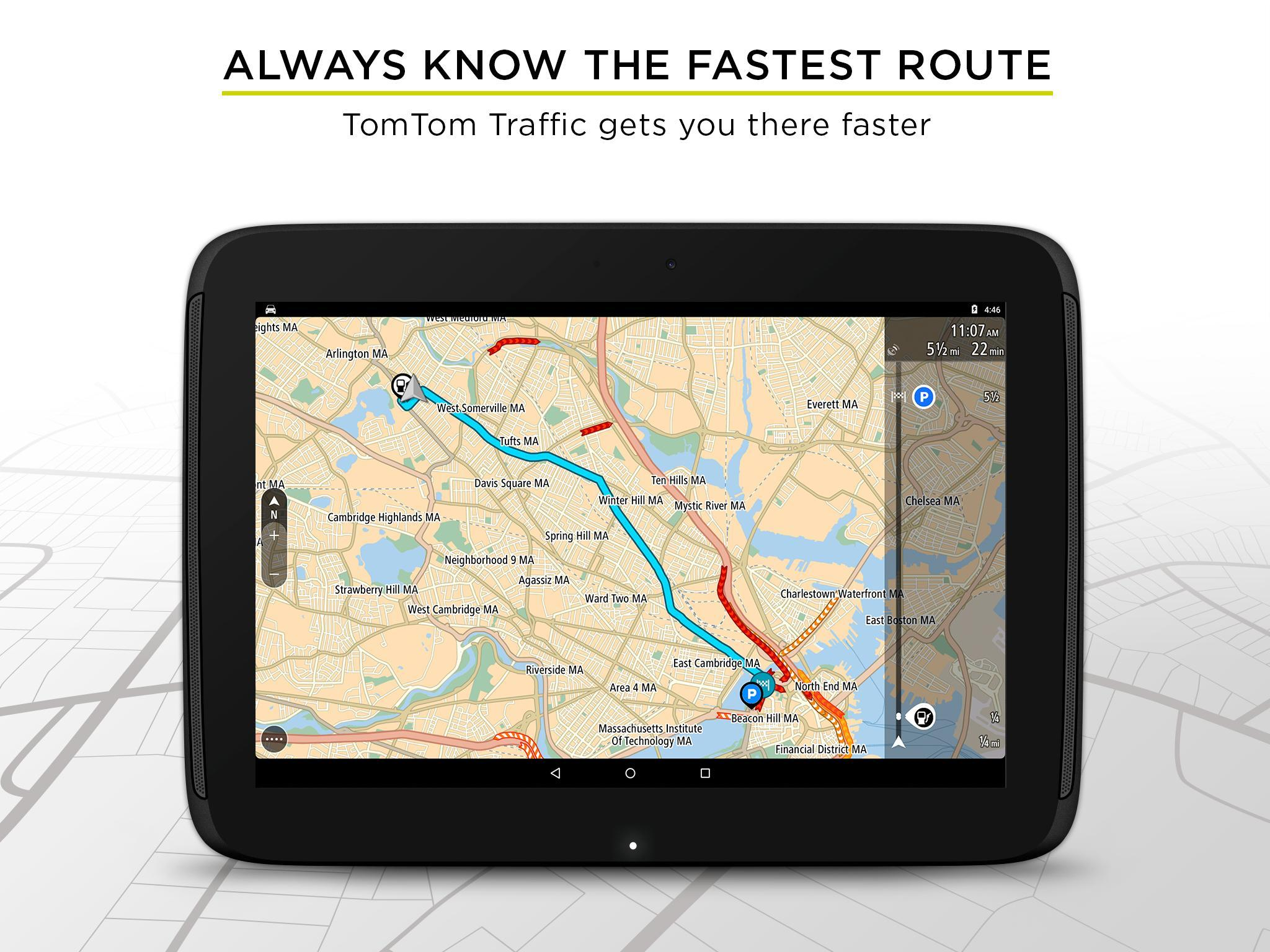 TomTom GPS Navigation - Live Traffic Alerts & Maps 2.0.4 Screenshot 8