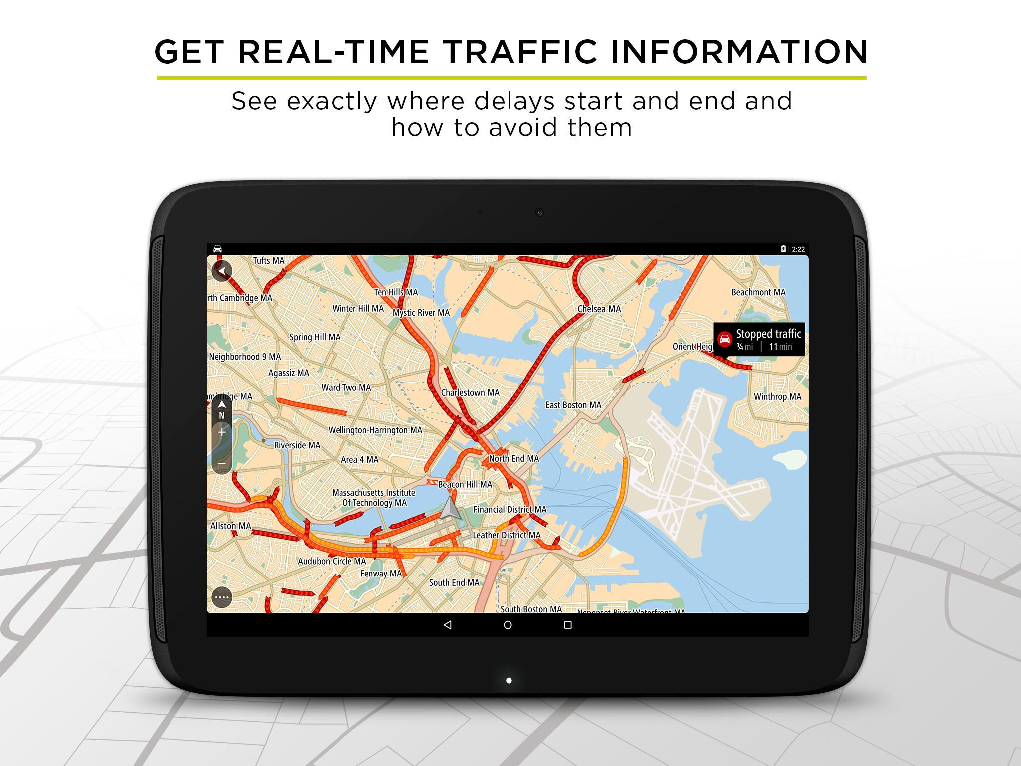TomTom GPS Navigation - Live Traffic Alerts & Maps 2.0.4 Screenshot 9
