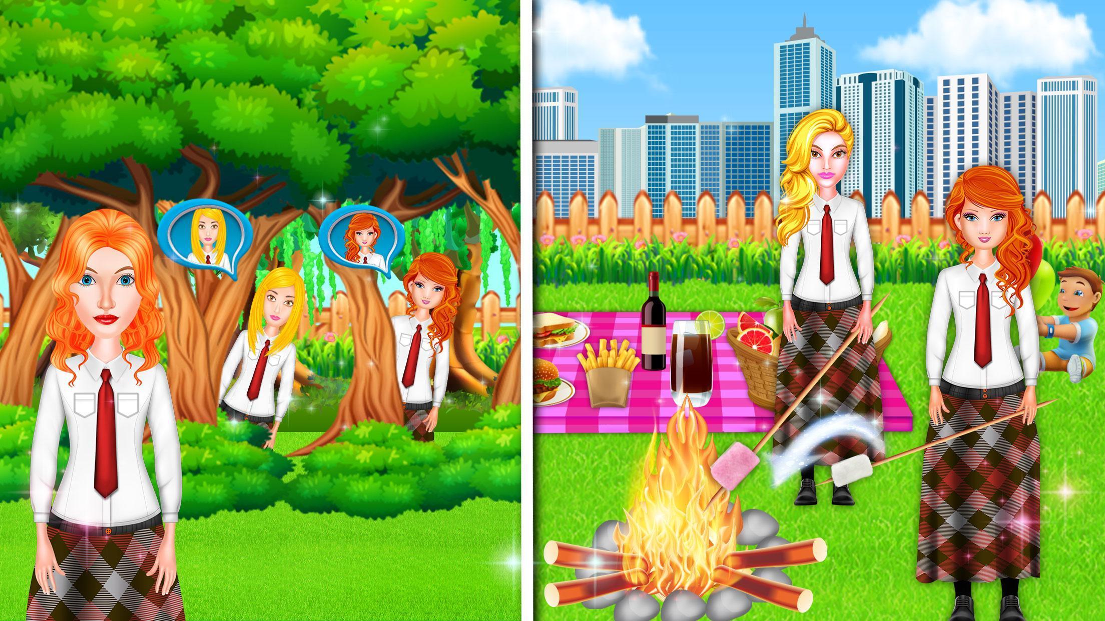 Theme Park School Trip Summer Picnic Adventure 1.0.5 Screenshot 11