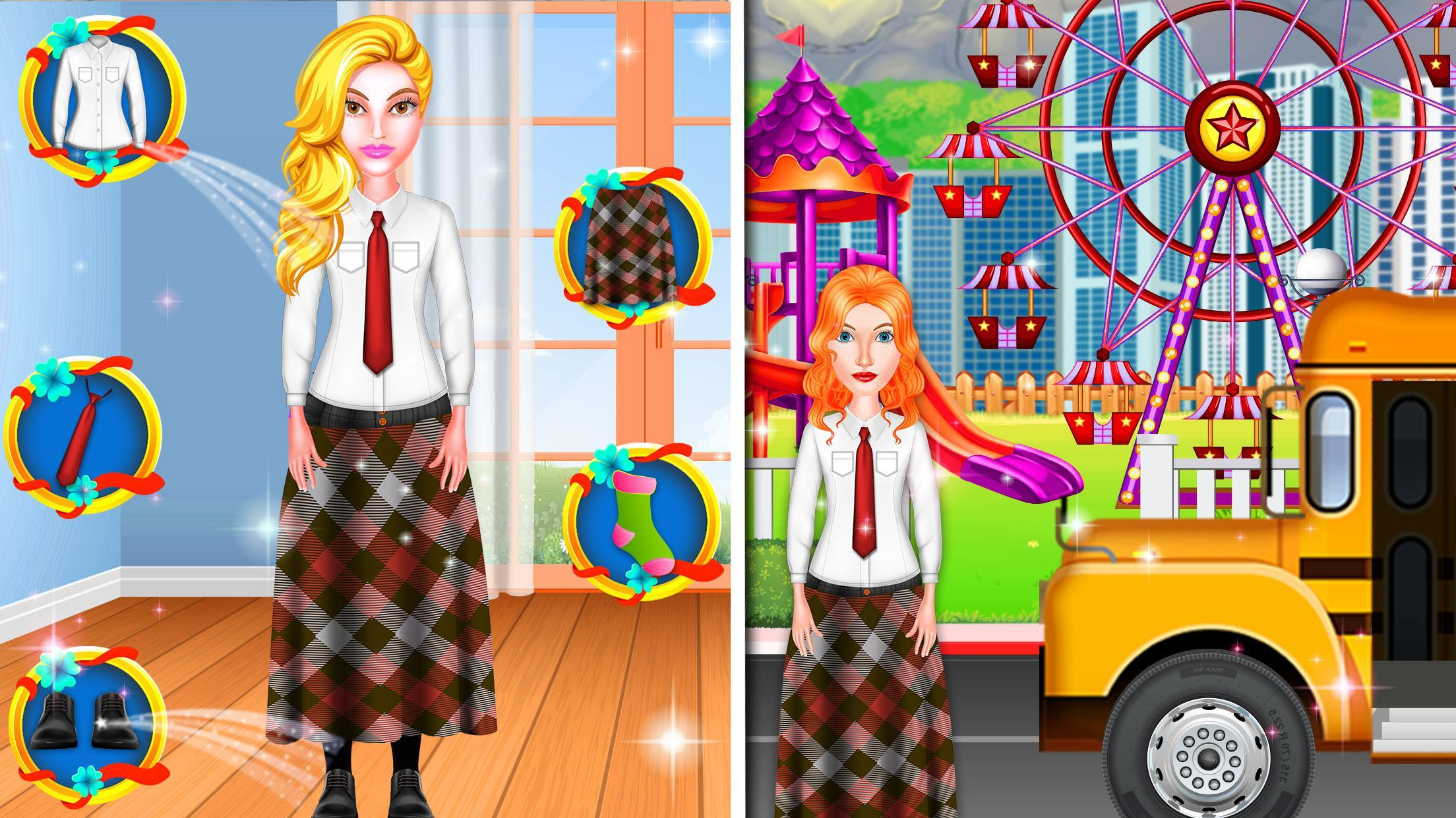 Theme Park School Trip Summer Picnic Adventure 1.0.5 Screenshot 4
