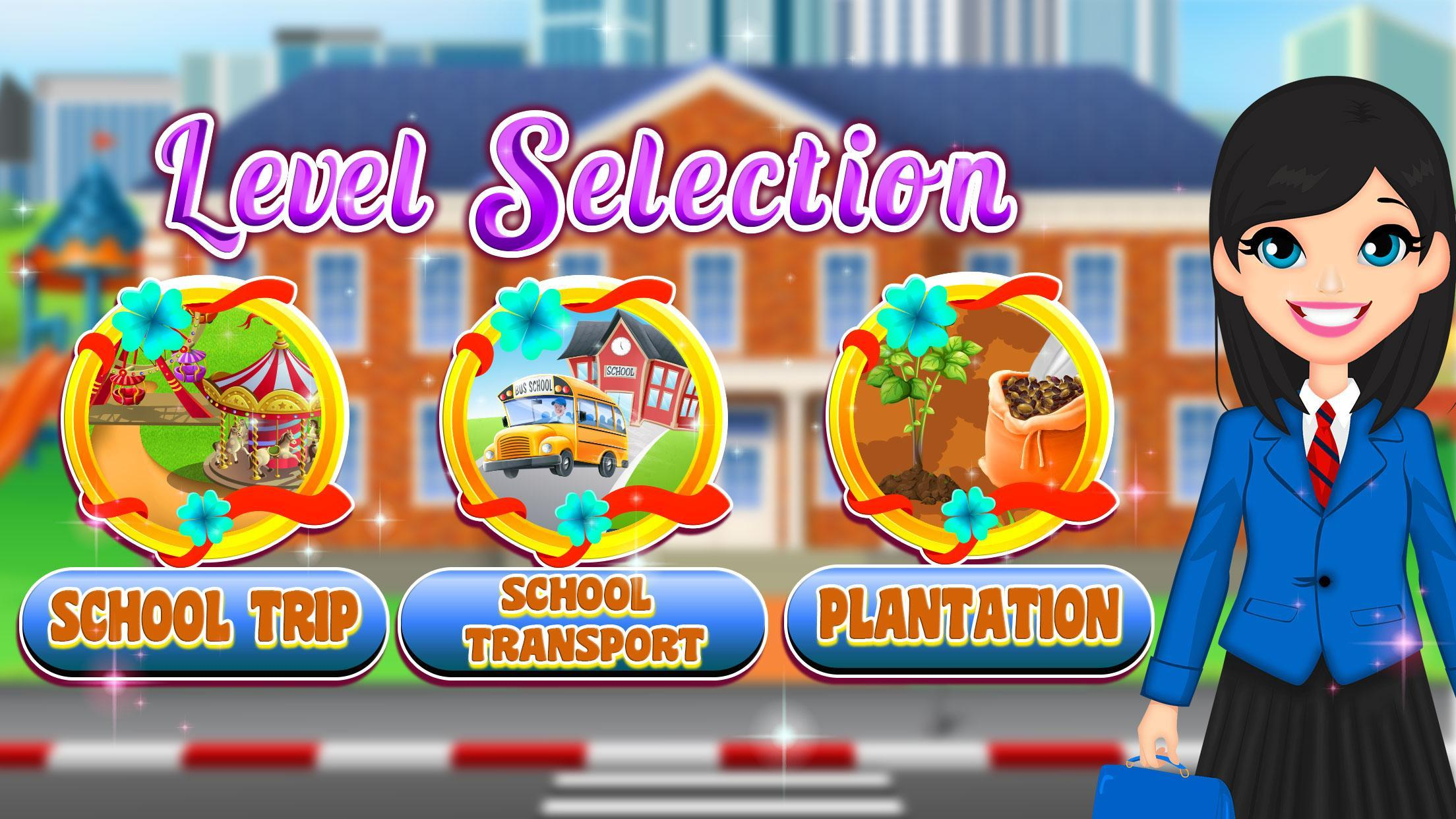 Theme Park School Trip Summer Picnic Adventure 1.0.5 Screenshot 6