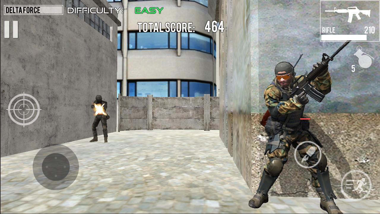 Delta Force Fury: Shooting Games 1.2 Screenshot 1