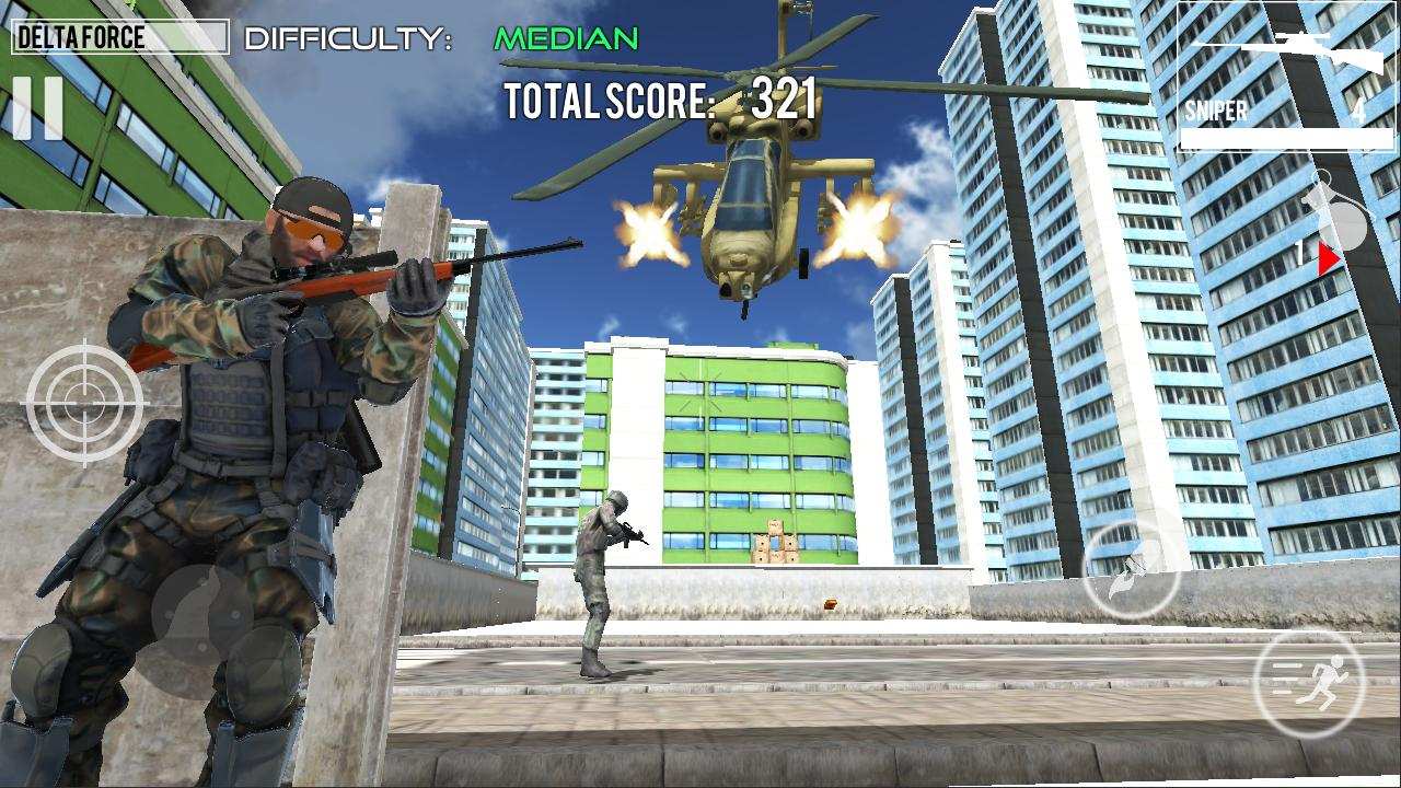 Delta Force Fury: Shooting Games 1.2 Screenshot 5