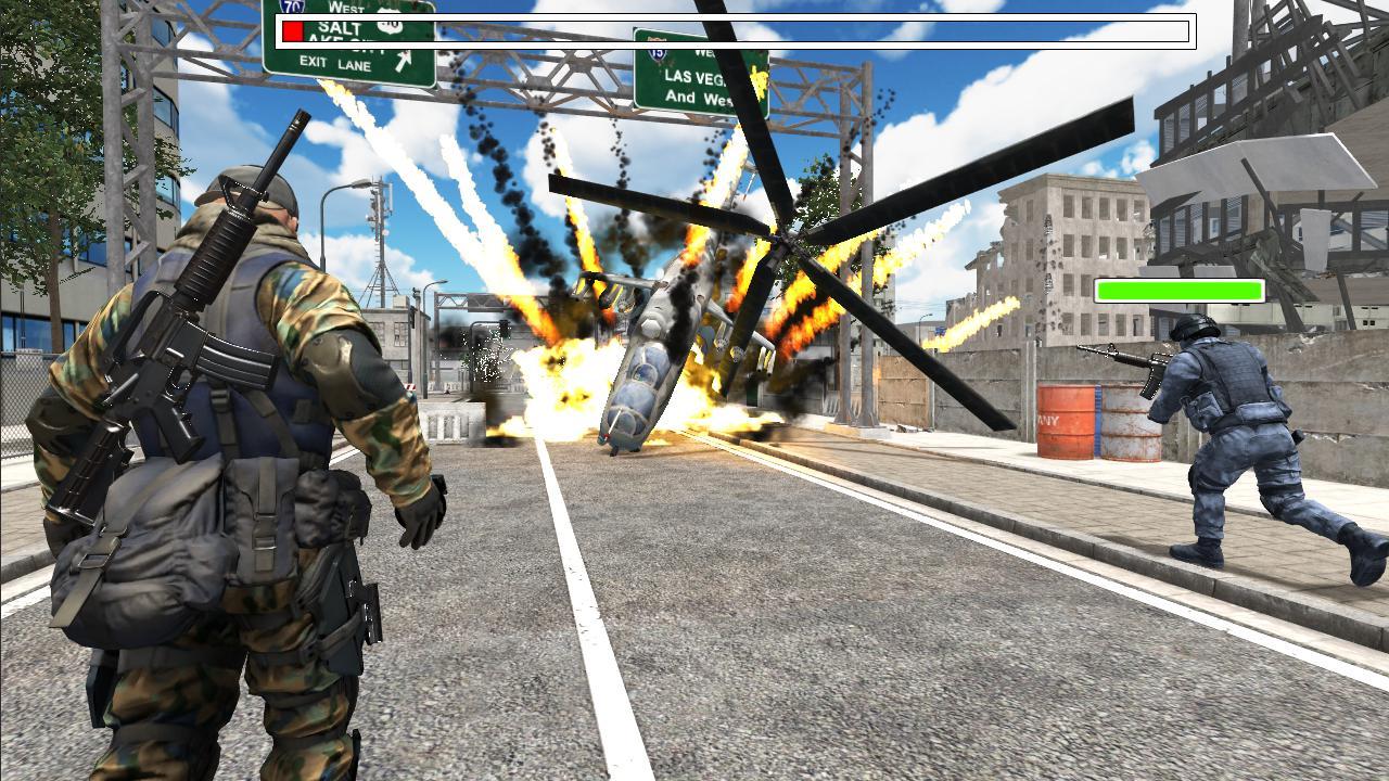 Delta Force Critical Strike Shooting Game 1.1 Screenshot 1