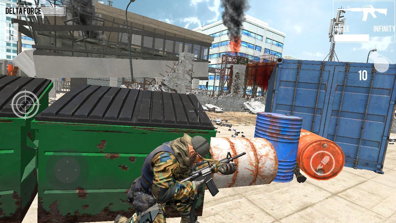 Delta Force Critical Strike Shooting Game 1.1 Screenshot 12