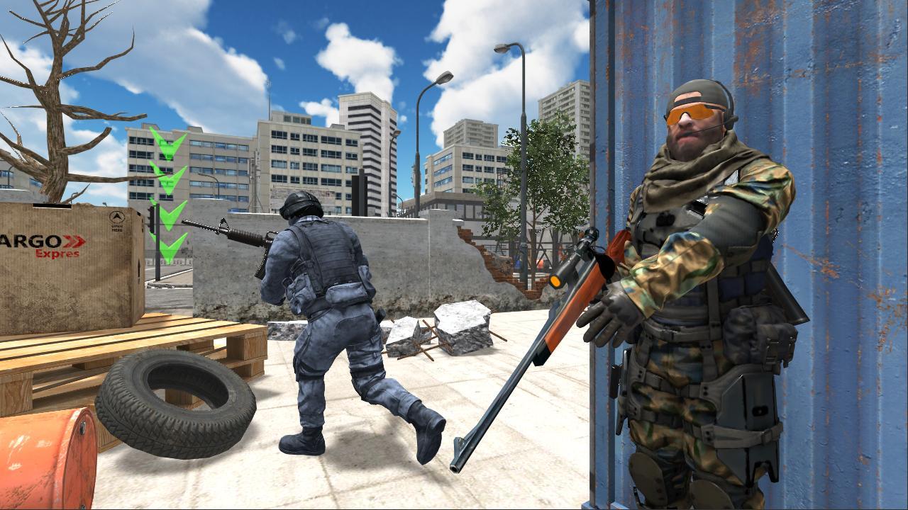 Delta Force Critical Strike Shooting Game 1.1 Screenshot 2