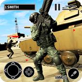Desert Hawk Down Shooting Game app icon