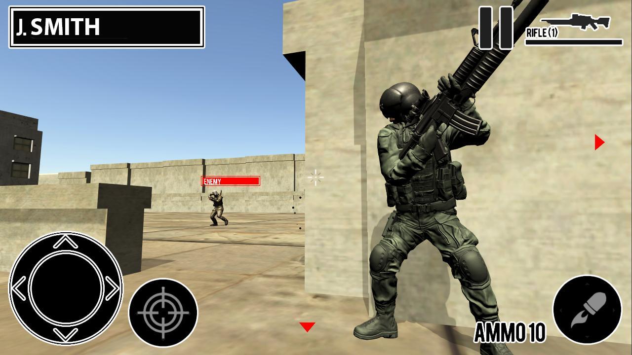 Desert Hawk Down Shooting Game 1.2 Screenshot 1