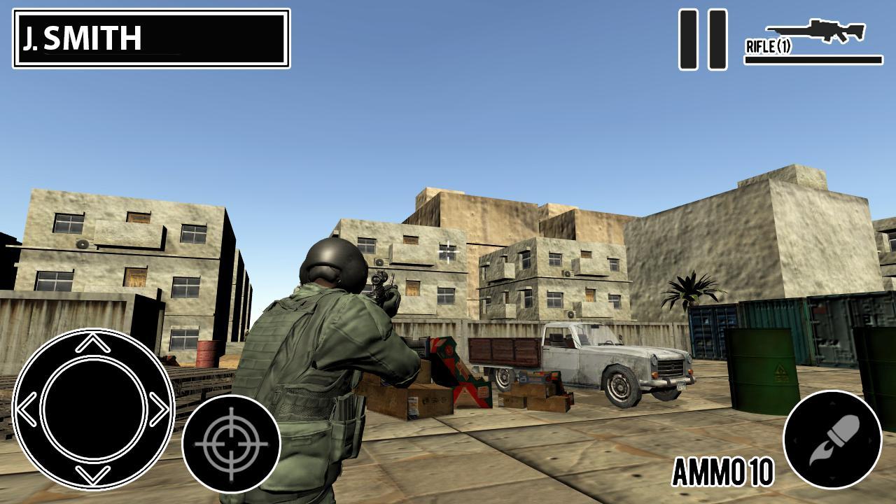 Desert Hawk Down Shooting Game 1.2 Screenshot 2