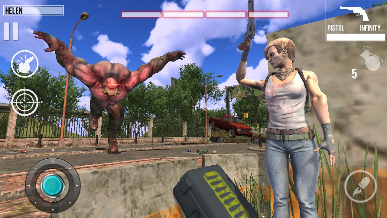 Post Apocalypse Monsters Attack Shooting Game 1.1 Screenshot 3
