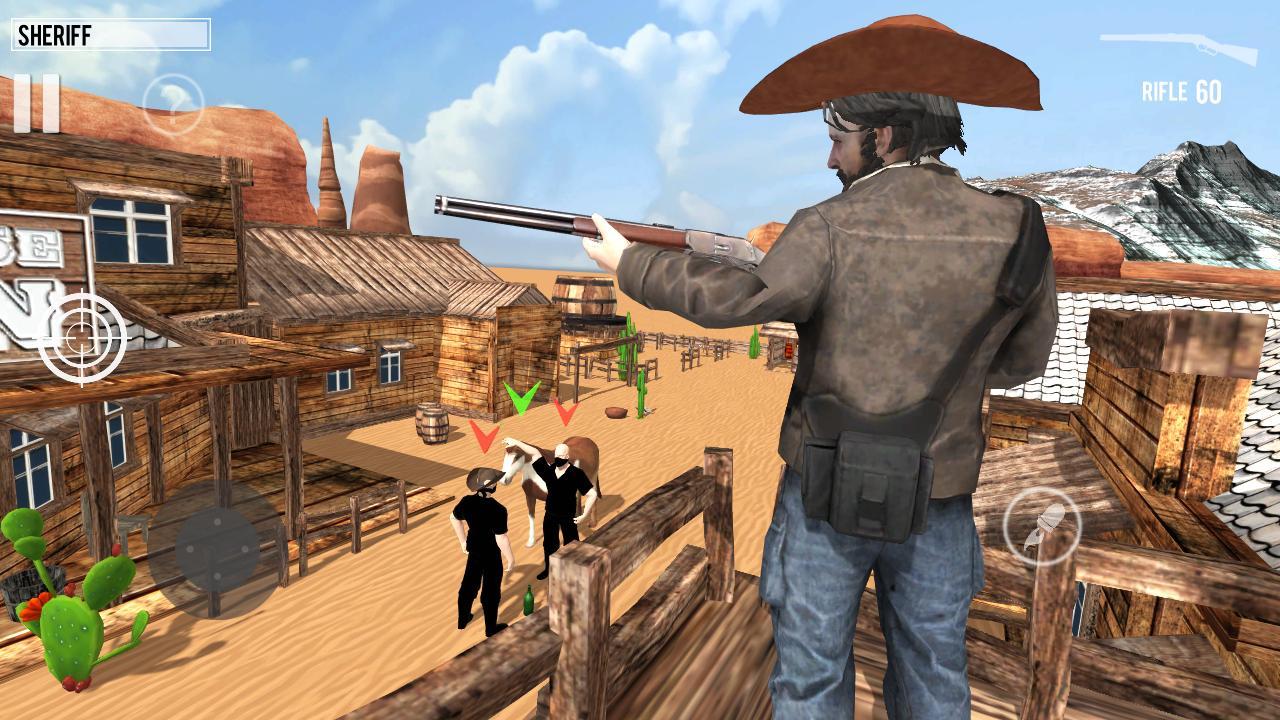 West Gunslinger Shooting Game 1.0.6 Screenshot 1