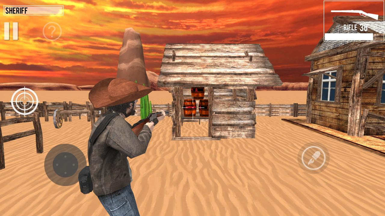 West Gunslinger Shooting Game 1.0.6 Screenshot 2