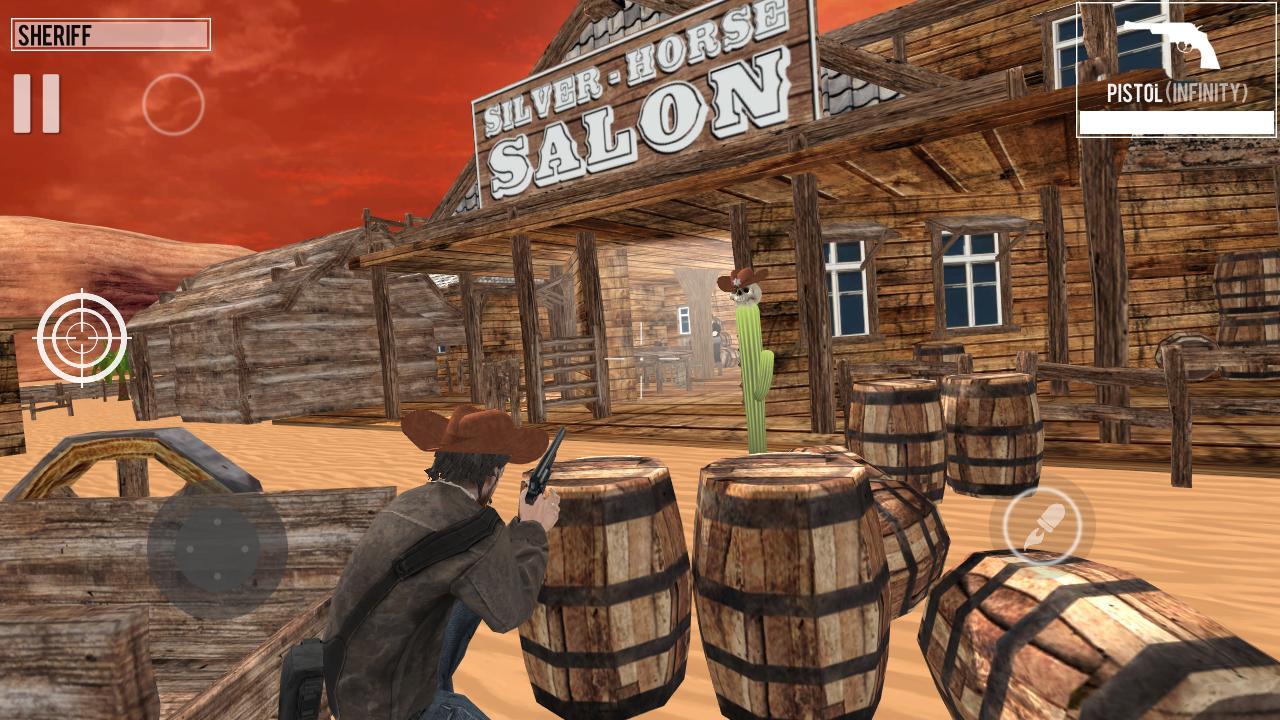 West Gunslinger Shooting Game 1.0.6 Screenshot 3