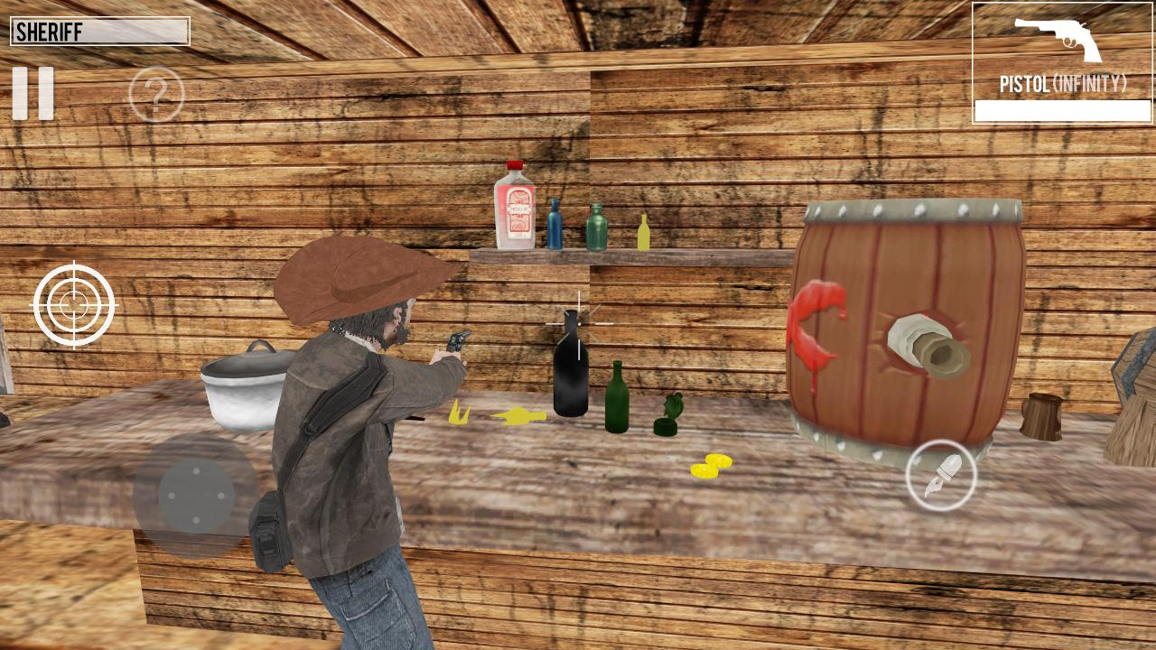 West Gunslinger Shooting Game 1.0.6 Screenshot 4