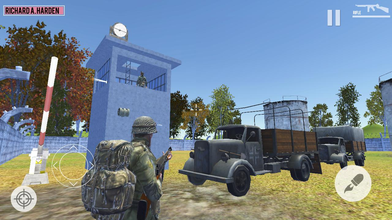 World War 2 Call of Honor 2: WW2 Shooting Game 1.3 Screenshot 1