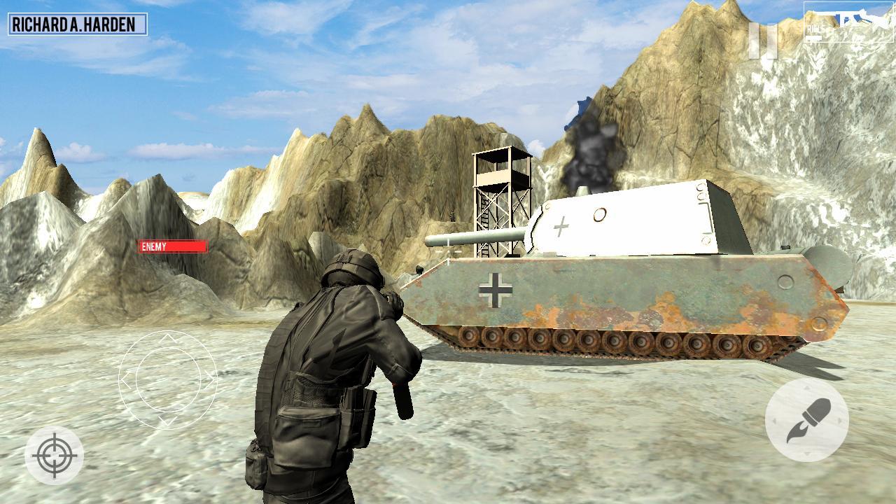 World War 2 Call of Honor: WW2 Shooting Game 1.3 Screenshot 3