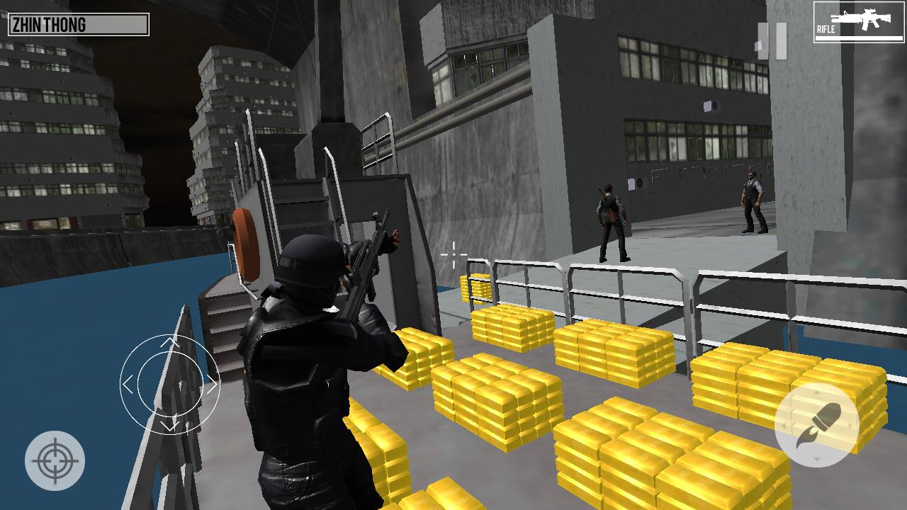 SWAT Dragons City: Shooting Game 1.2 Screenshot 1