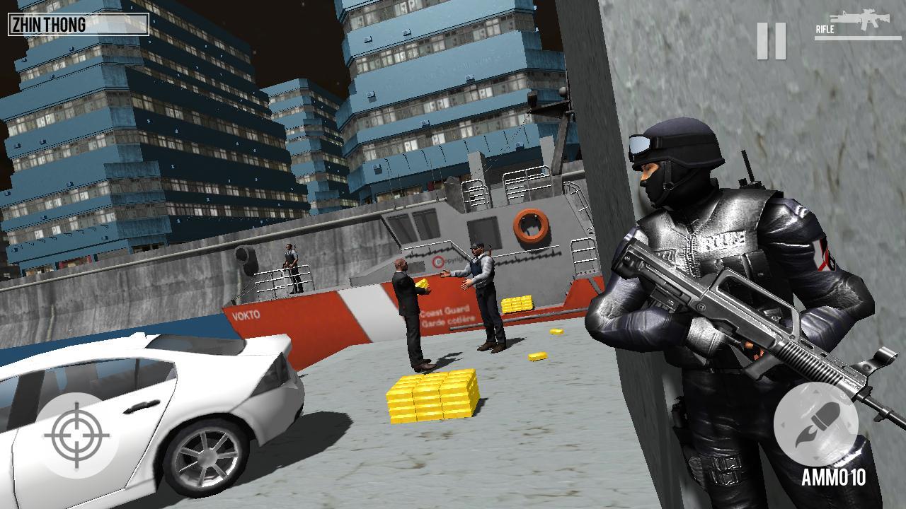 SWAT Dragons City: Shooting Game 1.2 Screenshot 2
