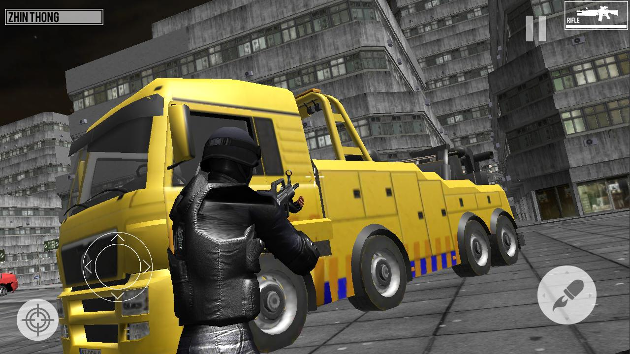 SWAT Dragons City: Shooting Game 1.2 Screenshot 4