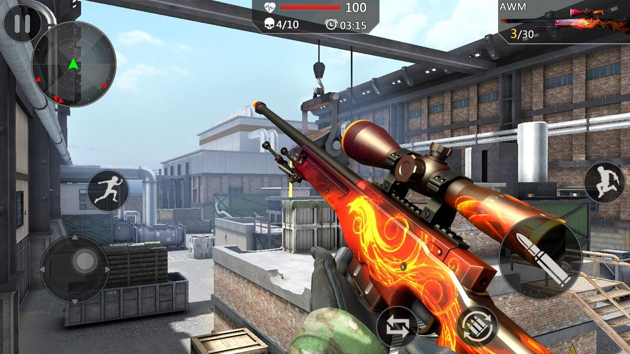 Gun Ops Anti-Terrorism Commando Shooter 1.2.1 Screenshot 1