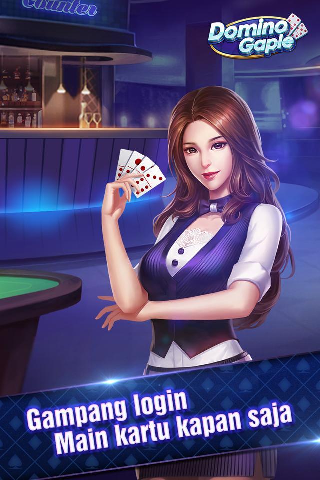 Domino Gaple TopFun(Domino QiuQiu):Free dan online 1.9.9 Screenshot 1
