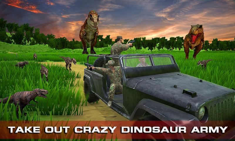 Escape Dino FPS Shooting Survival Game 1.2 Screenshot 1