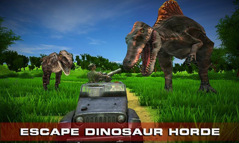 Escape Dino FPS Shooting Survival Game 1.2 Screenshot 4