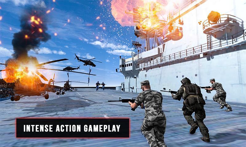 World War Naval Warfare Navy Battle 3D 1.1 Screenshot 1