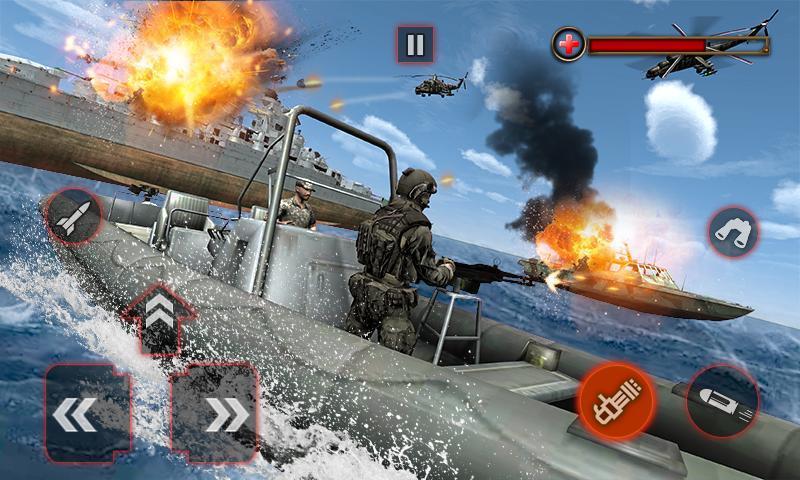 World War Naval Warfare Navy Battle 3D 1.1 Screenshot 2
