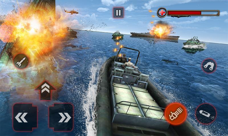 World War Naval Warfare Navy Battle 3D 1.1 Screenshot 5