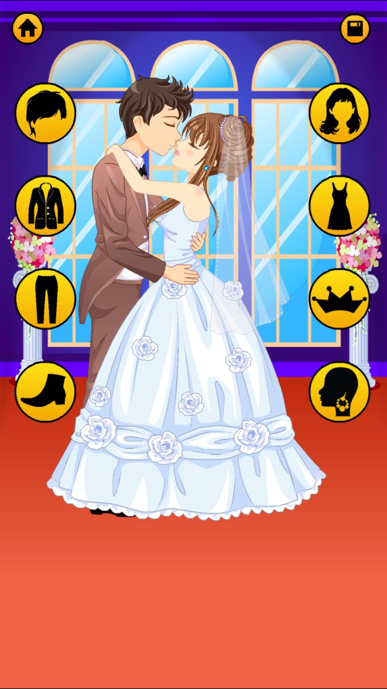 Anime Dress Up Games For Girls - Couple Love Kiss 3.3 Screenshot 11